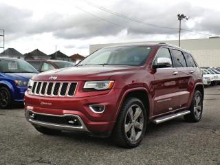 Used 2015 Jeep Grand Cherokee OVERLAND *CUIR*TOIT*GPS*HITCH* for sale in Brossard, QC