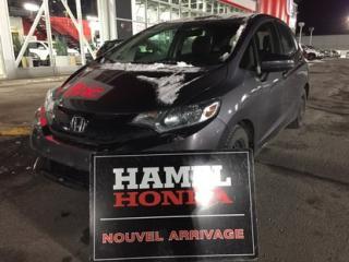 Used 2015 Honda Fit LX BALANCE DE GARANTIE GLOBALE JUSQU'AU 05/18/2020 OU 120 000KM for sale in St-Eustache, QC