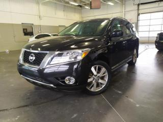 Used 2014 Nissan Pathfinder PLATINUM/TOIT/CUIR/NAV/4X4/DVD PLAYER/GR.REMORQUAG for sale in Blainville, QC