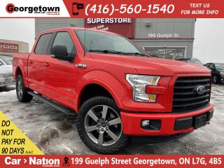 Used 2016 Ford F-150 SPORT FX4 | PANO ROOF | NAVI | CREW | B/U CAMERA for sale in Georgetown, ON