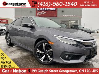 Used 2016 Honda Civic Sedan TOURING | NAVI | LEATHER | SUNROOF |CAM| 34,239KMS for sale in Georgetown, ON