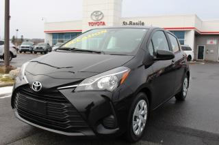 Used 2019 Toyota Yaris Hatchback LE SIEGES CHAUFFANTS CAMERA RECUL for sale in St-Basile-le-Grand, QC