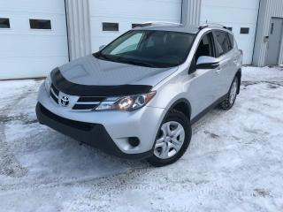 Used 2015 Toyota RAV4 LE AWD CAMÉRA DE RECUL 4 PNEU NEUF for sale in Alma, QC