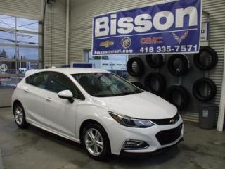 Used 2018 Chevrolet Cruze Hatchback LT for sale in Thetford Mines, QC