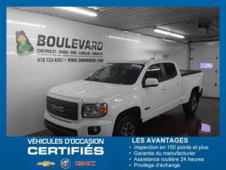 Used 2018 GMC Canyon 4WD CREW CAB ALL TERRAIN for sale in Rimouski, QC