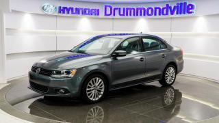 Used 2012 Volkswagen Jetta TDI HIGHLINE + GARANTIE + CUIR + WOW !! for sale in Drummondville, QC