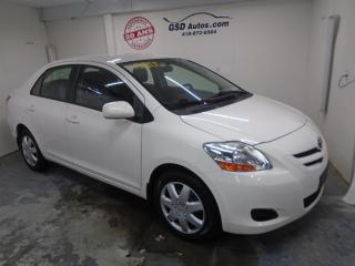Used 2008 Toyota Yaris A/C for sale in Ancienne Lorette, QC