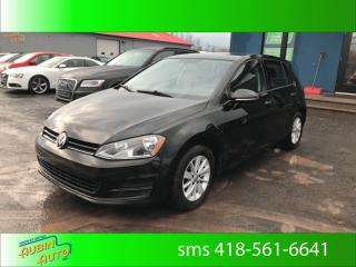 Used 2016 Volkswagen Golf TRENDLINE for sale in St-Agapit, QC