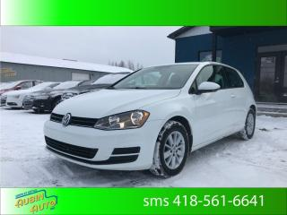 Used 2016 Volkswagen Golf Trendline* rare 3 portes* for sale in St-Agapit, QC