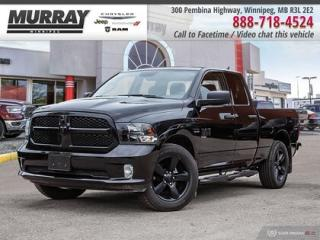 New 2019 RAM 1500 Classic ST * ELECTRONIC TRAILER BRAKE CONTROLLER   BACK-UP for sale in Winnipeg, MB
