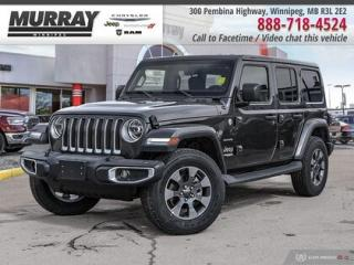 New 2019 Jeep Wrangler Unlimited Sahara Unlimited * Leather   Dual Tops   Navigatio for sale in Winnipeg, MB