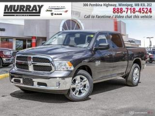 New 2019 RAM 1500 Classic ST *Remote Entry/Bkp Cam/Locking Tailgate* for sale in Winnipeg, MB