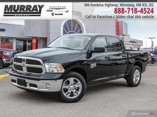 New 2019 RAM 1500 Classic ST *Remote Unlock/Bkp Cam/Locking Tailgate* for sale in Winnipeg, MB