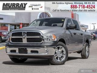 New 2019 RAM 1500 Classic ST *Remote Start Pwr Drvr Seat Bkp Cam* for sale in Winnipeg, MB