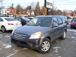 Used 2005 Honda CR-V EX,AUTO,A/C,AWD,ALLOYS,TINTED for sale in Kitchener, ON