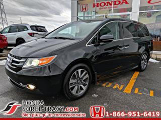 Used 2017 Honda Odyssey Touring for sale in Sorel-Tracy, QC