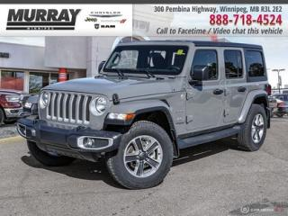 New 2019 Jeep Wrangler Unlimited Sahara 4x4 *Remote Start Htd Frt Seats Bkp Cam* for sale in Winnipeg, MB