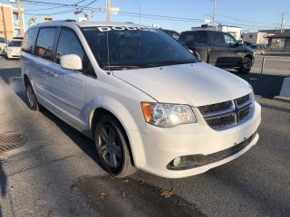 Used 2017 Dodge Grand Caravan CREW PLUS Familiale à 7 places / CUIR / for sale in St-Hyacinthe, QC