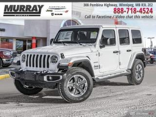 New 2020 Jeep Wrangler Unlimited Unlimited Sahara for sale in Winnipeg, MB