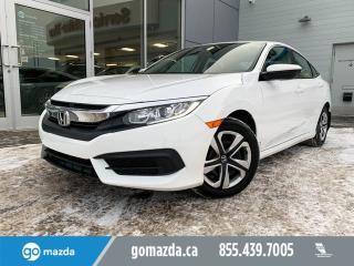 Used 2018 Honda Civic Sedan LX POWER OPTIONS HEATED SEATS for sale in Edmonton, AB