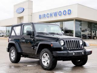 Used 2016 Jeep Wrangler Sport Clean CarFAX | Low KM | 1 Ownr for sale in Winnipeg, MB