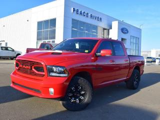 Used 2018 RAM 1500 Sport 4x4 Crew Cab 140.0 in. WB for sale in Peace River, AB