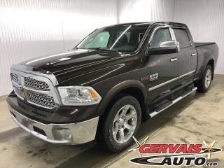 Used 2014 RAM 1500 Laramie CREW EcoDiesel 4x4 GPS Cuir Toit Ouvrant for sale in Trois-Rivières, QC