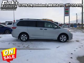 Used 2019 Toyota Sienna 7 Passenger  -  Bluetooth for sale in Steinbach, MB