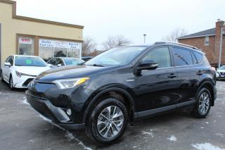Used 2016 Toyota RAV4 XLE AWD hybrid for sale in Brampton, ON