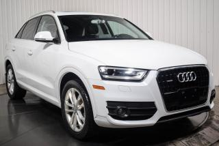 Used 2015 Audi Q3 TECHNIK AWD CUIR TOIT PANO NAV for sale in St-Hubert, QC