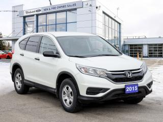 Used 2015 Honda CR-V LX Heated Seats | Back Up Camera and more! for sale in Winnipeg, MB