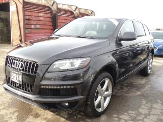 Used 2014 Audi Q7 3.0L TDI Technik NAV,PANORAMIC ROOF,CAMERA for sale in Oakville, ON