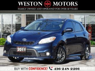 Used 2011 Toyota Matrix 5SPEED*SUNROOF*UNBELIEVABLE SHAPE!!* for sale in Toronto, ON