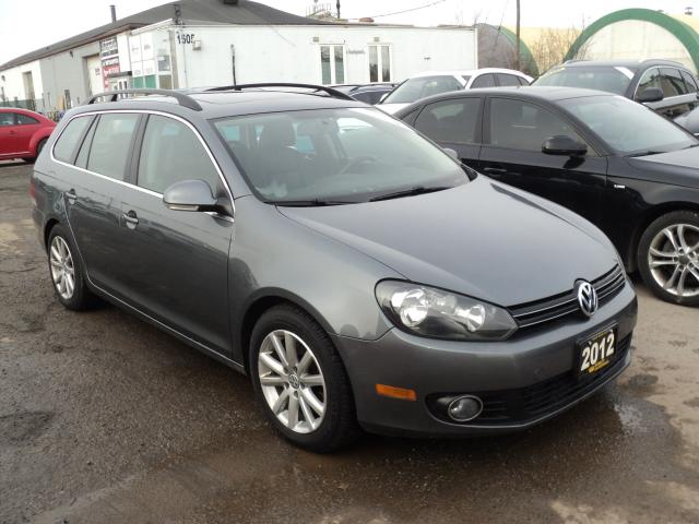 2012 Volkswagen Golf Wagon Highline PANORAMIC SUN ROOF,LEATHER