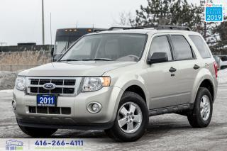 Used 2011 Ford Escape XLT 2.5L 1 OWNER, CERTIFIED SERVICED SPOTLESS LOW for sale in Bolton, ON