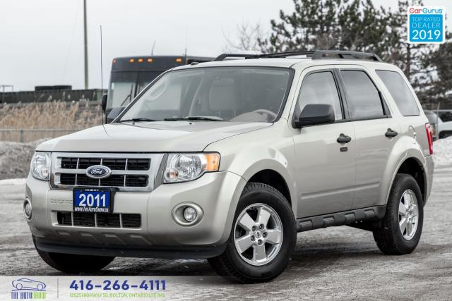 2011 Ford Escape XLT 2.5L 1 OWNER, CERTIFIED SERVICED SPOTLESS LOW