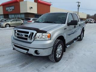 Used 2008 Ford F-150 XLT 4x4 Crew Cab 5.5' Styleside 138.5 in. WB for sale in Steinbach, MB