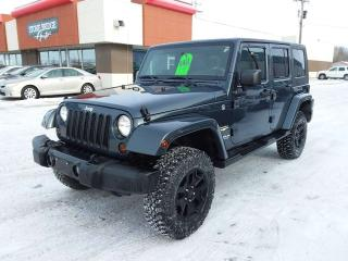 Used 2008 Jeep Wrangler Unlimited Sahara 4dr 4WD 4 Door for sale in Steinbach, MB