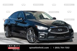 Used 2017 Infiniti Q50 3.0t / AWD / TOIT 3.0t / AWD / TOIT for sale in Montréal, QC