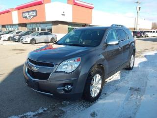 Used 2010 Chevrolet Equinox LTZ 4dr AWD 4 Door for sale in Steinbach, MB