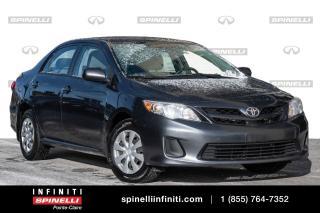 Used 2012 Toyota Corolla 4 CYL / BLUETOOTH / CRUISE CONTROL / 4 CYL / BLUETOOTH / CRUISE CONTROL / for sale in Montréal, QC