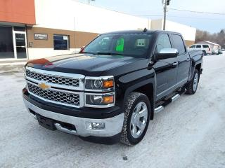 Used 2014 Chevrolet Silverado 1500 LTZ w/2LZ 4x4 Crew Cab Pickup 143.5 in. WB for sale in Steinbach, MB