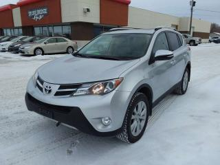 Used 2015 Toyota RAV4 Limited 4dr AWD Sport Utility for sale in Steinbach, MB