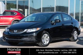 Used 2015 Honda Civic LX AUTO BAS KM AUTO AC CRUISE BLUETOOTH BAS KM for sale in Lachine, QC