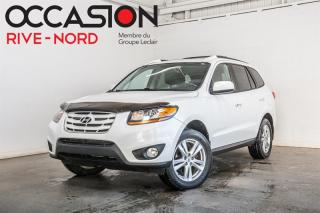 Used 2011 Hyundai Santa Fe Limited V6 AWD CUIR+TOIT.OUVRANT for sale in Boisbriand, QC