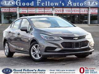 Used 2018 Chevrolet Cruze LT MODEL, REARVIEW CAMERA, HEATED SEATS, BLUETOOTH for sale in Toronto, ON