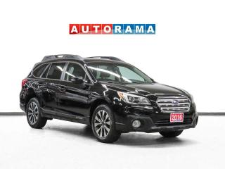 Used 2016 Subaru Outback AWD Leather Sunroof Backup Cam for sale in Toronto, ON