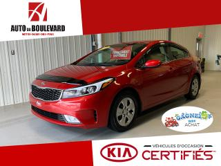 Used 2017 Kia Forte LX+ APPLE/ANDROIRD PRET HIVER for sale in Notre-Dame-des-Pins, QC
