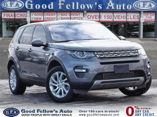 Used 2017 Land Rover Discovery Sport SPORT HSE, AWD, REARVIEW CAMERA, DVD, MEMORY SEAT for sale in Toronto, ON