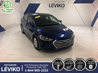 Used 2017 Hyundai Elantra LE **BLUETOOTH + SIEGE CHAUFFANT** for sale in Lévis, QC